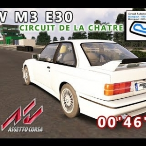 BMW M3 E30 : CIRCUIT DE LA CHATRE