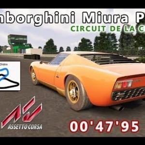 Lamborghini Miura P400 : CIRCUIT DE LA CHATRE