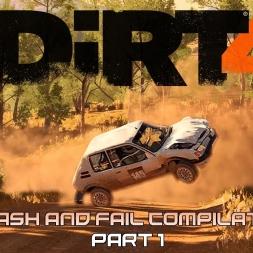 DiRT4 - CRASH AND FAIL COMPILATION - PART 1