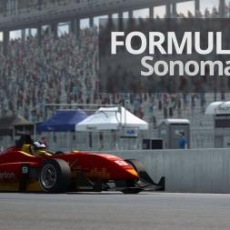 RaceRoom - Formula RaceRoom 3 @ Sonoma Sprint - 1:03.851