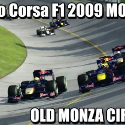 Assetto Corsa - Formula 1 2009 MOD - Old Monza RACE 2k 60FPS