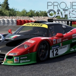 Project CARS 2 - Ferrari F50 GT GT1 at Nurburgring (WIP) (PT-BR)