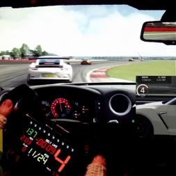 AC - Silverstone - Nissan Nismo GTR - Street Fight server - online race