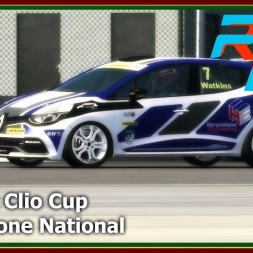 Rfactor 2 - Renault Clio Cup - Silverstone National