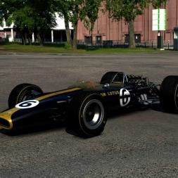 [Assetto Corsa (EA032)] - Lotus 49 Black & Gold - Monza '66 - 1:30:332 - Logitech G27 - Full HD