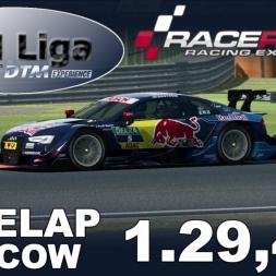 RaceRoom Racing Experience | VTM Liga | DTM 2016 | Polelap Moscow + Setup | 1.29,441