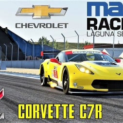 Chevrolet Corvette C7R HOTLAP at Laguna Seca - Assetto Corsa (Mod Download)