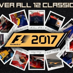 F1 2017 Classic Car - Having a Look at all 12 Reveals (Part 1 of 2)