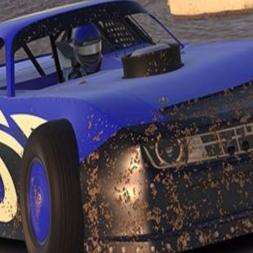 iRacing Dirt Street Stock at USA International Speedway - Good Fun
