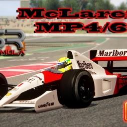 Assetto Corsa 4K * McLaren MP4/6 * Barcelona