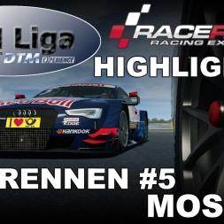 RaceRoom Racing Experience | VTM Liga | DTM 2016 | Testrennen #5 | Highlights