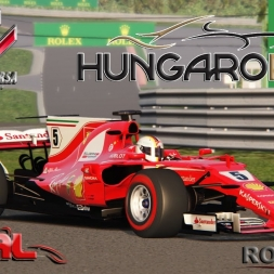 Assetto Corsa 4K * ACFL F1 2017 * Hungaroring roll out