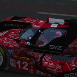 Rebellion R-One(PX1 Revolution  V6) at  Lemans Assetto Corsa