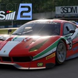 Project CARS 2 - Ferrari 488 GT3 at Donington Park (WIP) (PT-BR)