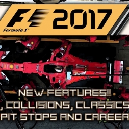 F1 2017 NEW FEATURES! Let's talk Damage, Collisions, Classics, Pit Stops, Career and more!