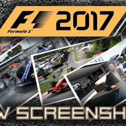 F1 2017 NEW SCREENSHOTS! Australia, Monaco, Canada & Spa + Classics!