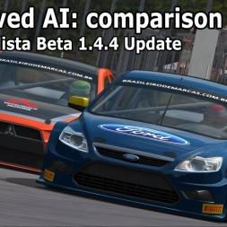 Automobilista beta 1.4.4 update: Improved AI comparison (AMS vs AMS beta)