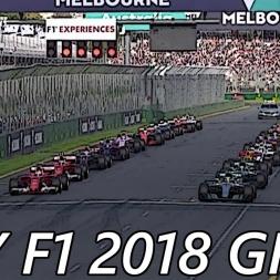 My F1 2018 Grid