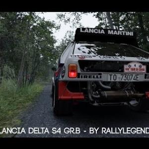 Assetto Corsa - Lancia Delta S4 Gr. B 1985/86 - By Rallylegends Mod