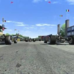[Assetto Corsa (EA066)] - Lotus 49 - Monza '66 - Race Full Grid - Logitech G27 - Full HD