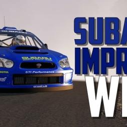 Subaru Impreza WRC S11 vs. Takigahara - Assetto Corsa Mod - Oculus Rift gameplay