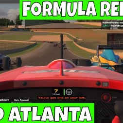 iRacing Formula Renault at Road Atlanta