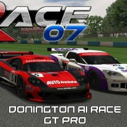 RACE 07 MODS - GT PRO - Donington Park AI Race - Saleen S7