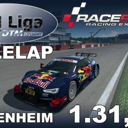 RaceRoom Racing Experience | VTM Liga | DTM 2016 | Polelap Hockenheim + Setup | 1.31,551