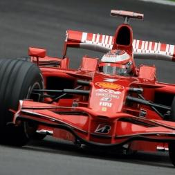 rFactor 2 Ferrari F2007 @ Barcelona