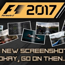 F1 2017 MORE NEW SCREENSHOTS! ONBOARD, R&D, CHALLENGE MENU, THIRD PERSON!
