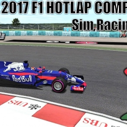 Sim Racing Mania Formula One 2017 HOTLAP Competition - Hungaroring - rFactor 2