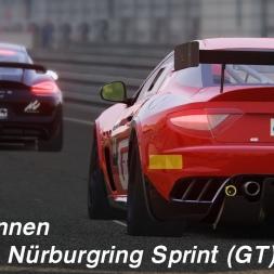 Assetto Corsa (1.14.4) - GT4-Rennen @Nürburgring Sprint (GT) im Maserati GranTurismo MC GT4