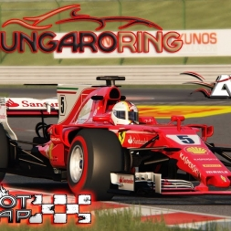 Assetto Corsa * ACFL F1 2017 * Hungarian GP * HotLap [1:17.353]