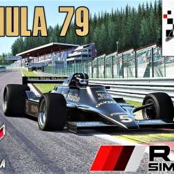 Formula 79 HOTLAP at Spa - Race Sim Studio - Assetto Corsa