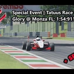 Assetto Corsa | Sepcial Event Tatuus Race Golden Glory | Tatuus FA01 @ Monza
