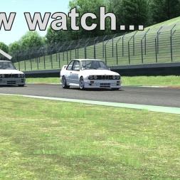 [Assetto Corsa (EA078)] - BMW M3 E30 Group A - Mugello - Magic AI - Logitech G27 - Full HD