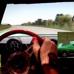 AC - Triangle - Lamborghini Miura - cruising