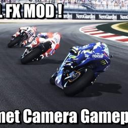 MotoGP 17 Total FX MOD ! - Helmet Camera Gameplay