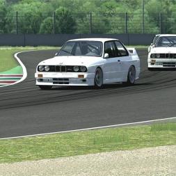 [Assetto Corsa (EA078)] - BMW M3 E30 Group A - Mugello - Gold - 2.05.734 - Logitech G27 - Full HD