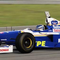 Williams FW19 Silverstone Hotlap (VR)