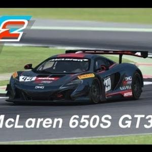 rFactor 2 (Open Beta DX11 v1.1108) - McLaren 650S GT3 @Silverstone GT