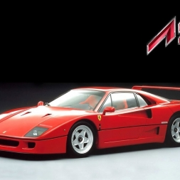 Assetto Online: Ferrari F40 Stage 3 at the Nordschleife!