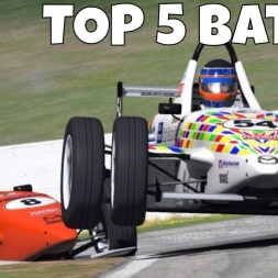 iRacing Skip Barber Top 5 Battle