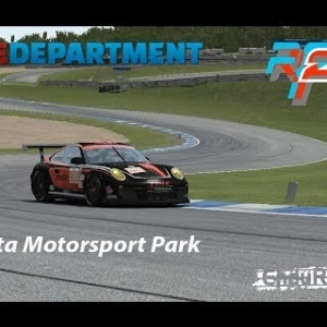 rFactor 2 - Flat 6 @ Atlanta Motorsport Park