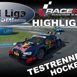 RaceRoom Racing Experience | VTM Liga | DTM 2016 | Testrennen #6| Hockenheim | Highlights