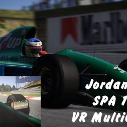AC:  Jordan 191 @ Spa 1992 - Driver Eye VR + MultiCam - 4K