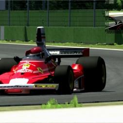 [Assetto Corsa (EA080)] - Ferrari 312T - Imola - 1.51.714 - Logitech G27 - Full HD