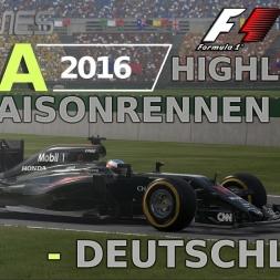 F1 2016 | LIGA 2016 | 20. Saisonrennen | Deuuschland [www.gpgames.eu]