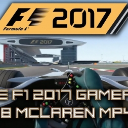 F1 2017 MORE REAL GAMEPLAY - McLaren MP4-23 - Shanghai, China - ALL VIEWS!