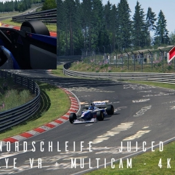 AC:  FW19 @ Nordschleife - Juiced Up - Driver Eye VR + MultiCam - 4K